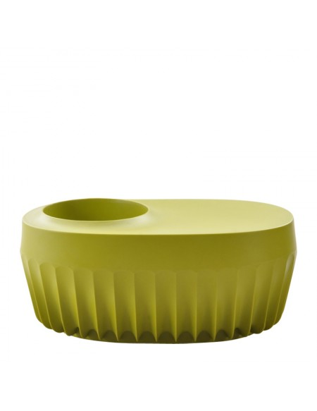 Fin Vase With Seat