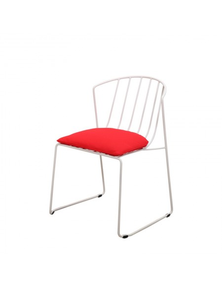 Interlace Chair With Flap