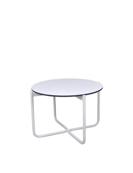 Stone Side Table - Round