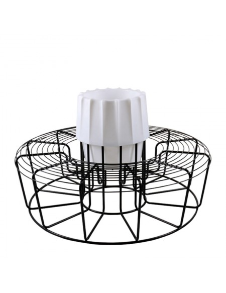 Nest Round Bench With Pot