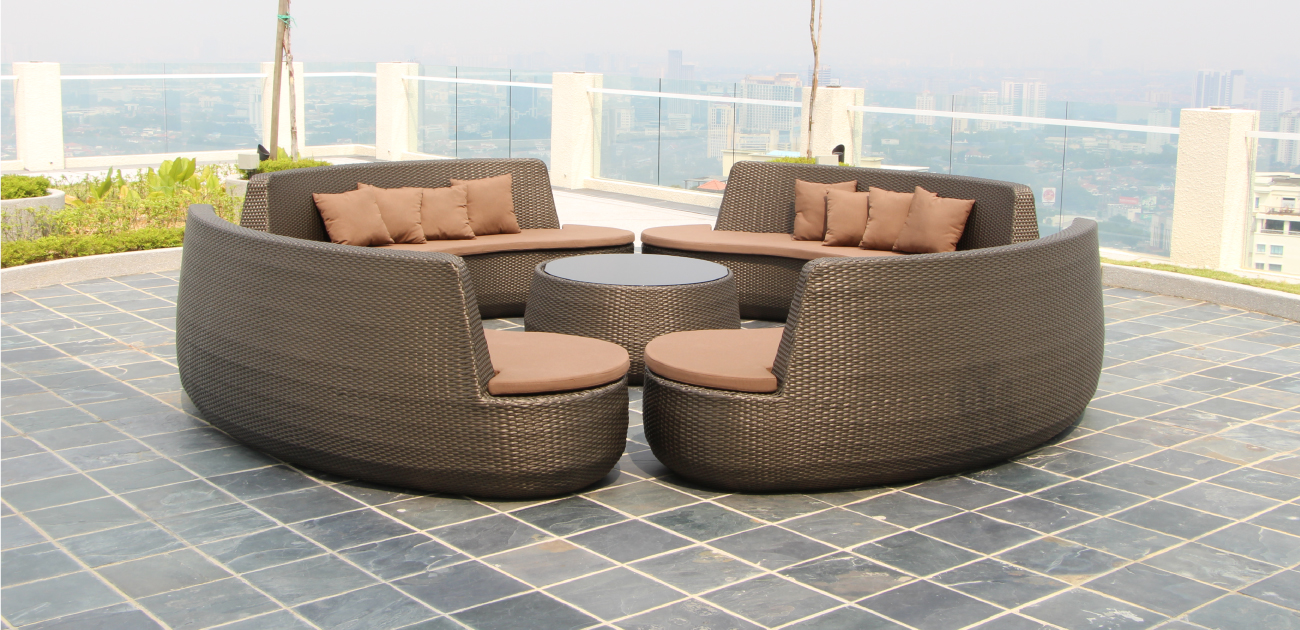 Snake Lounge Set - Kian Home Outdoor Furniture Collection