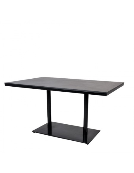 Gradient Double Shaft Dining Table
